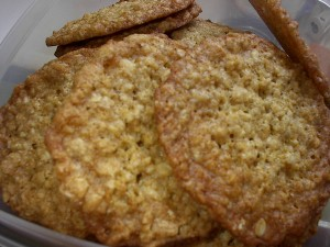 cook's illustrated thin & crispy oatmeal cookies